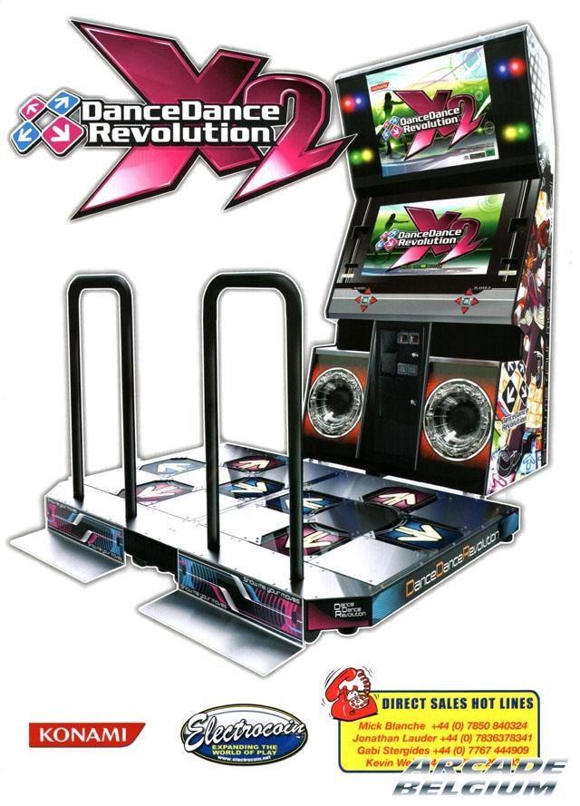 DanceDanceRevolution X2 Ddrx201