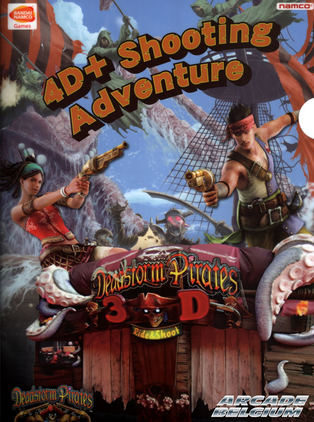 Deadstorm Pirates Dsp3d01