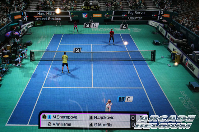 Virtua Tennis 4 Eag12100b