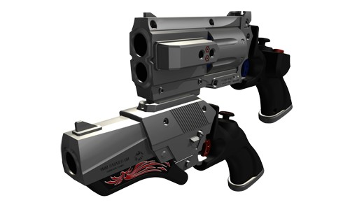 Gunslinger Stratos Gun011
