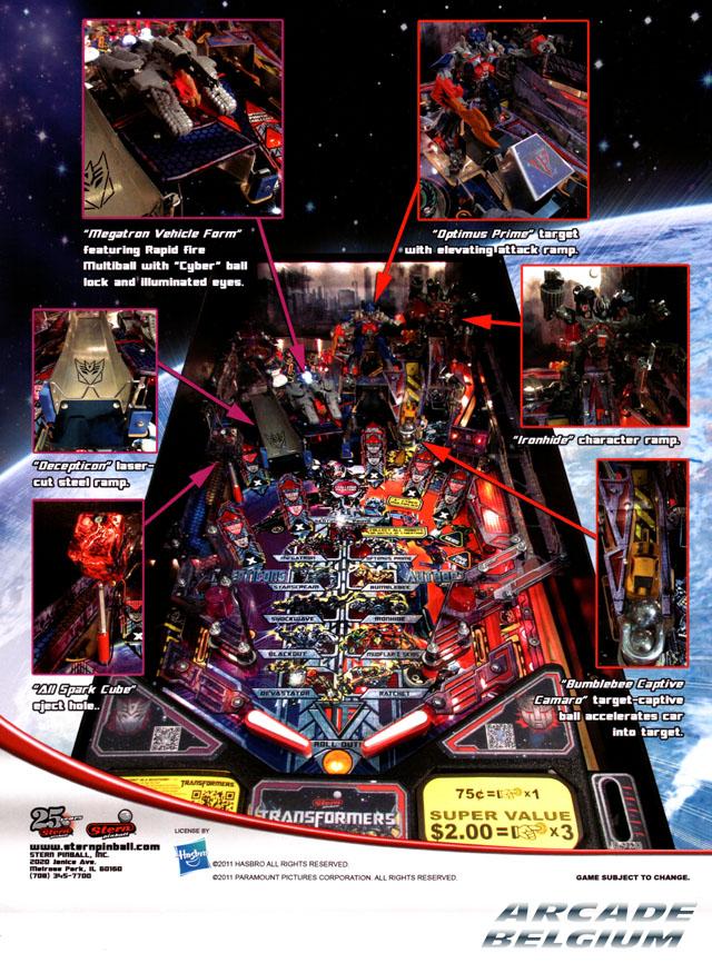 [Pinball] Transformers Transformers02
