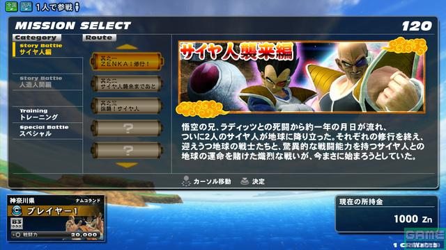 Dragon Ball Zenkai Battle Royale Super Saiyan Awakening Zen03