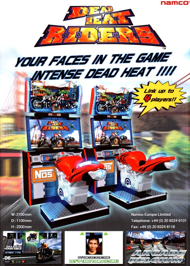Dead Heat Riders Dhr_flyer