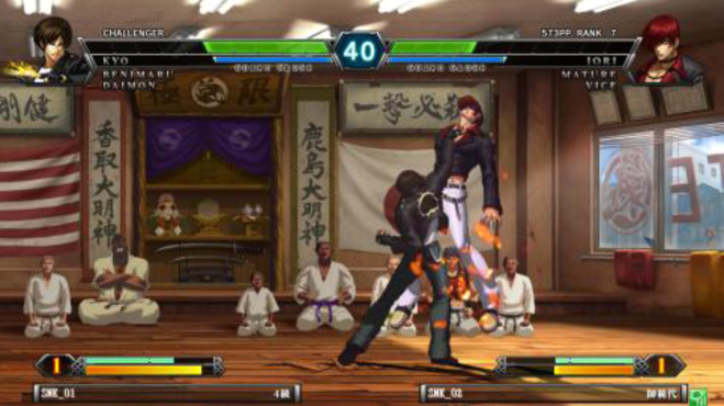 The King of Fighters XIII Climax for NESiCAxLive Kof13nes_05