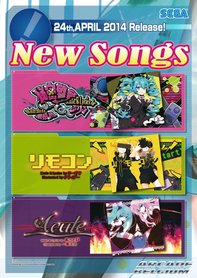Hatsune Miku Project DIVA Arcade Future Tone Mikuft1404