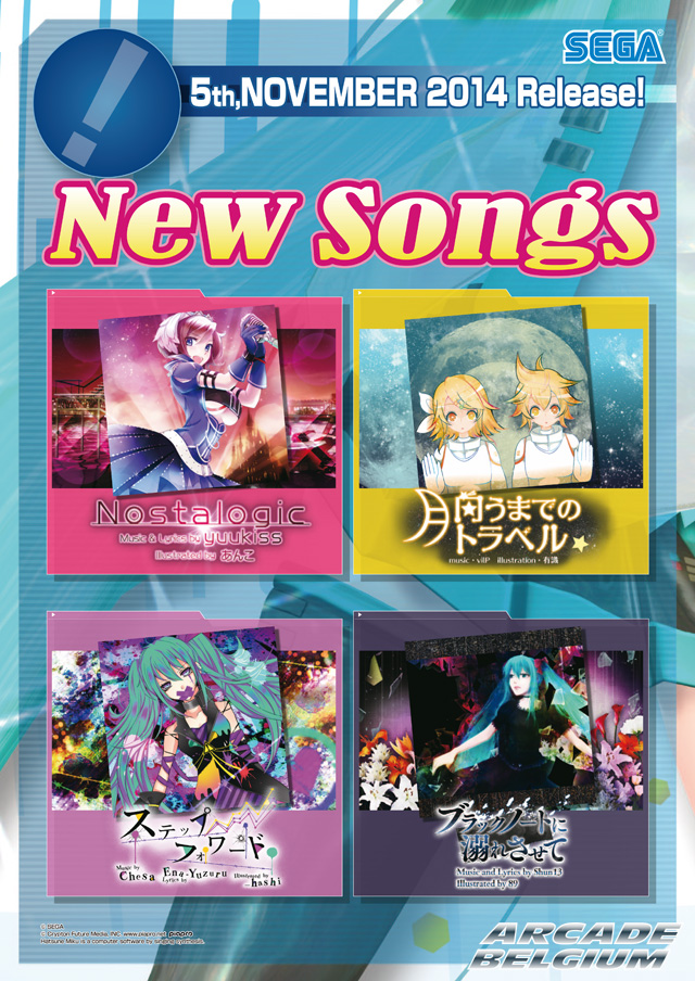 Hatsune Miku Project DIVA Arcade Future Tone Mikuft141105