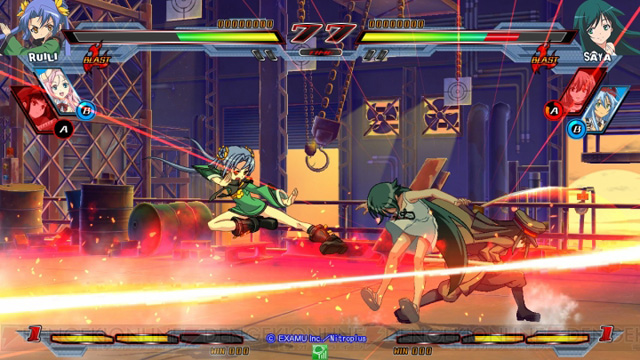 Nitro+ Blasterz - Heroines Infinite Duel Nitroplus_21