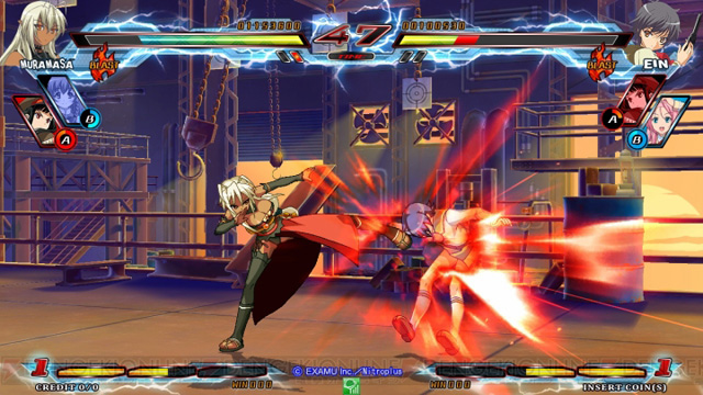 Nitro+ Blasterz - Heroines Infinite Duel Nitroplus_27