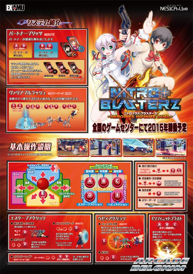 Nitro+ Blasterz - Heroines Infinite Duel Nitroplus_29