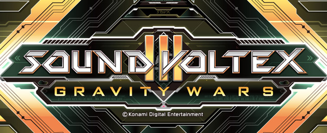 Sound Voltex Booth III - Gravity Wars Soundvoltex3_logo