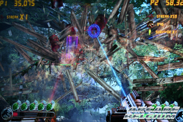 Jurassic Park Arcade Eag15036b