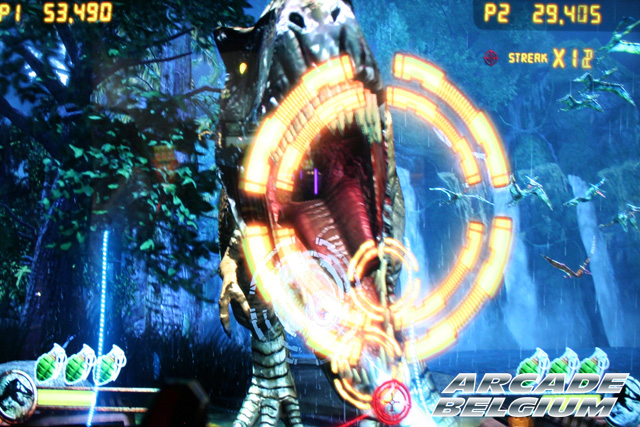 Jurassic Park Arcade Eag15038b