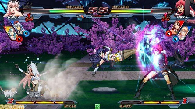 Nitro+ Blasterz - Heroines Infinite Duel Nitro11