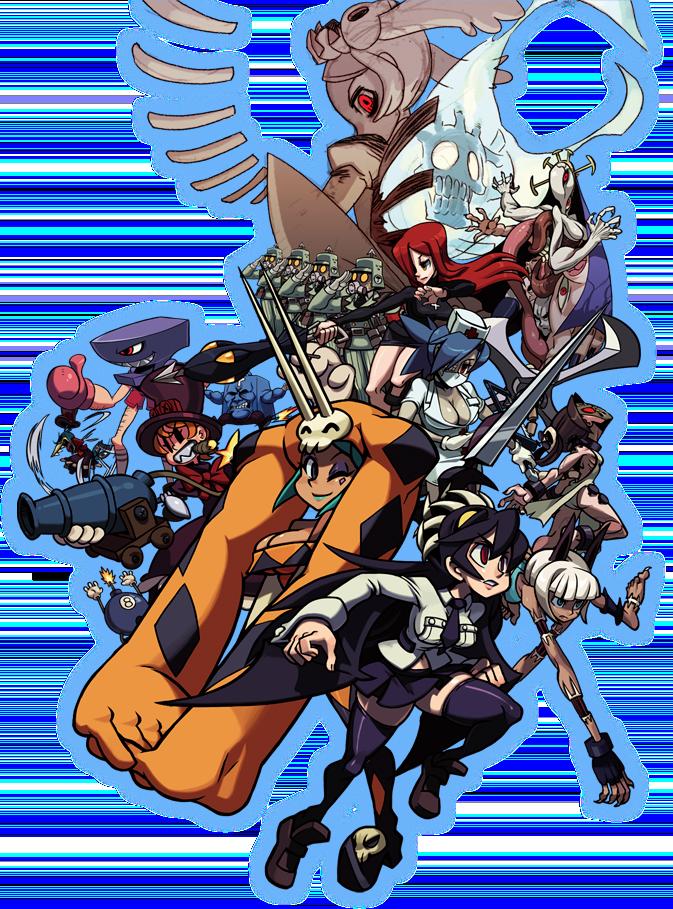 Skullgirls 2nd Encore for NESiCAxLive Skull2nd_01