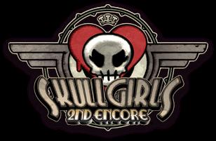 Skullgirls 2nd Encore for NESiCAxLive Skull2nd_logo