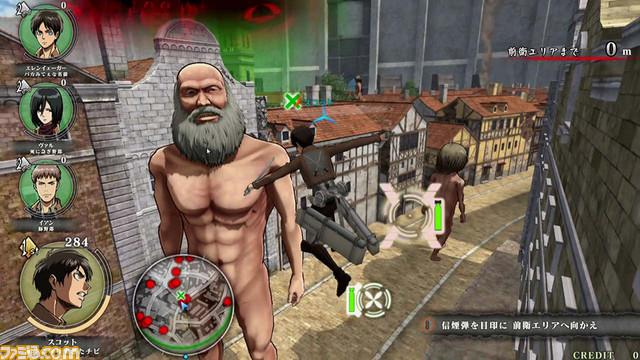Shingeki no Kyojin (Attack on Titan) TEAM BATTLE Shingeki_11