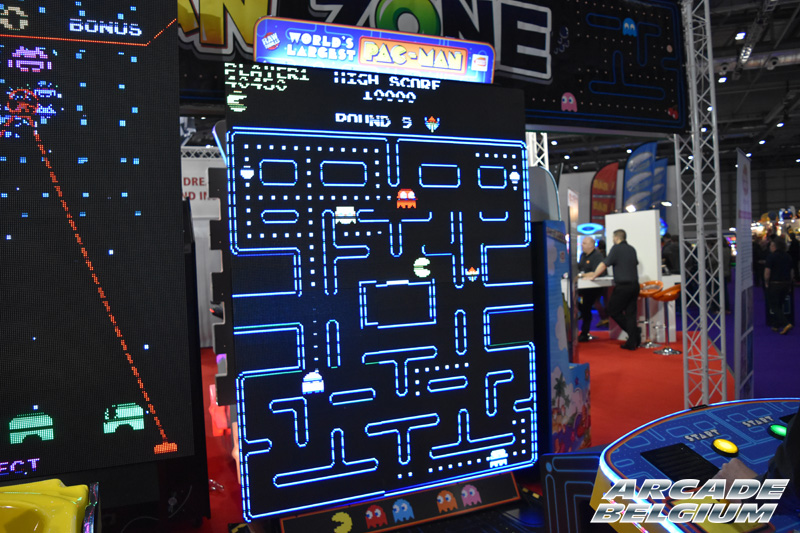 World's largest Pac-Man Eag17_199b