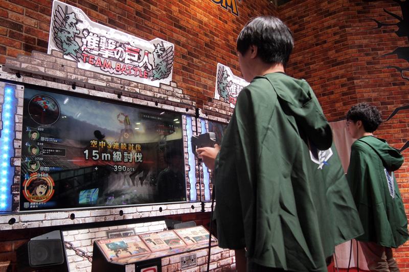 Shingeki no Kyojin (Attack on Titan) TEAM BATTLE Shingeki_31