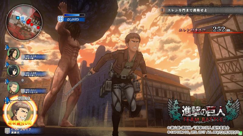 Shingeki no Kyojin (Attack on Titan) TEAM BATTLE Shingeki_36