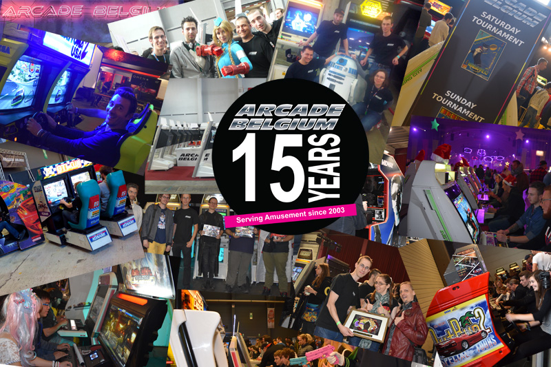 Arcade Belgium 15th anniversary Ab15years
