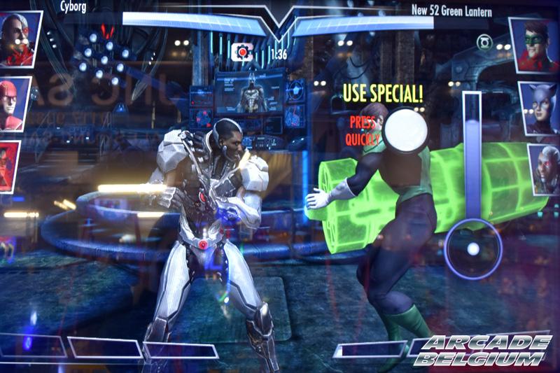 Injustice Arcade Eag18022b