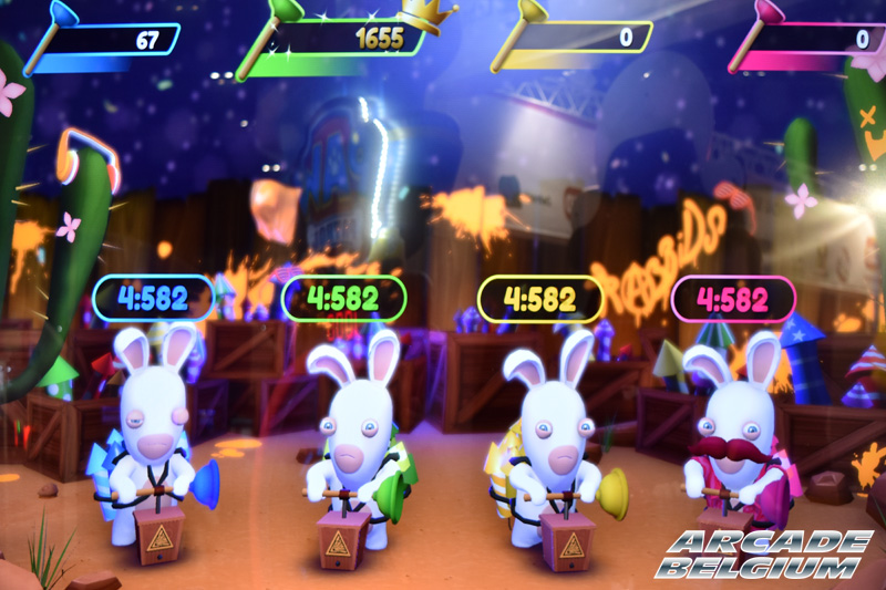 Rabbids Ticket Fiesta Eag18058b