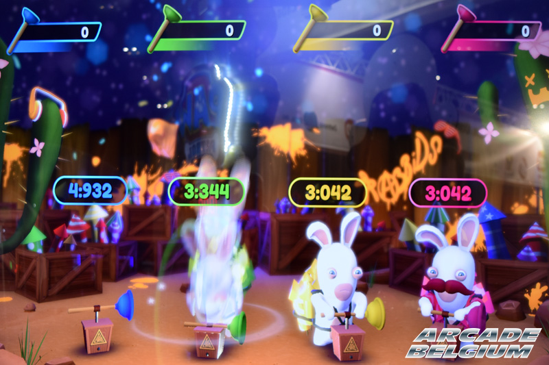 Rabbids Ticket Fiesta Eag18060b