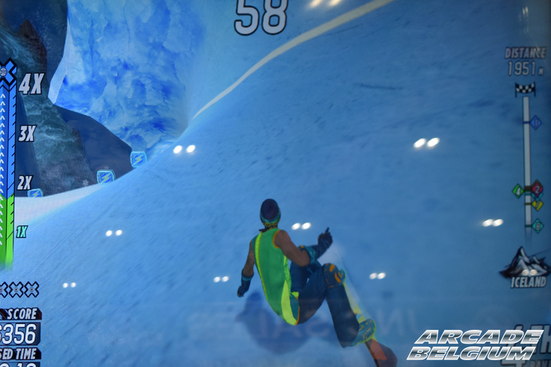 X Games Snow Boarder Eag18088b