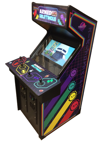 Armed and Gelatinous Arcade Edition Armedandgel_cab