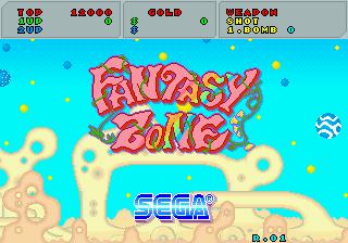 SEGA Classics (tentative name) Fantasy Zone Fantzone_01